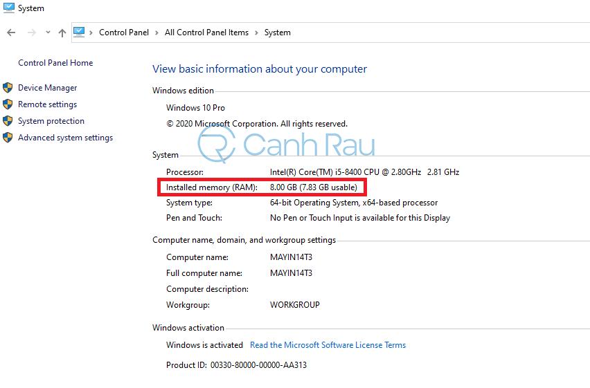 Nâng cấp RAM cho Laptop hình 6