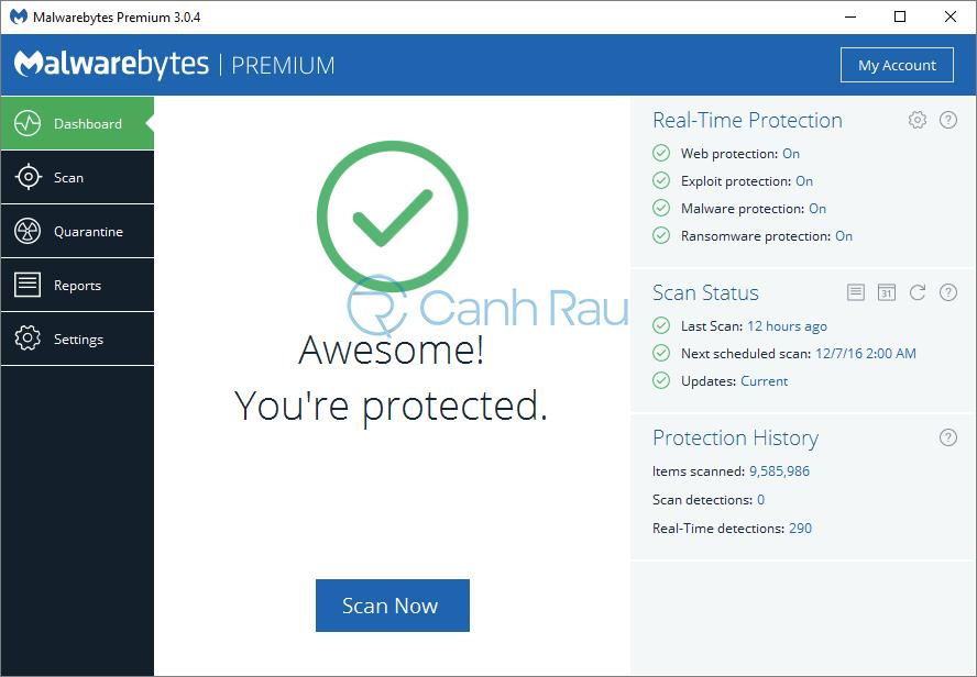 Phần mềm diệt Malware tốt nhất hình 4