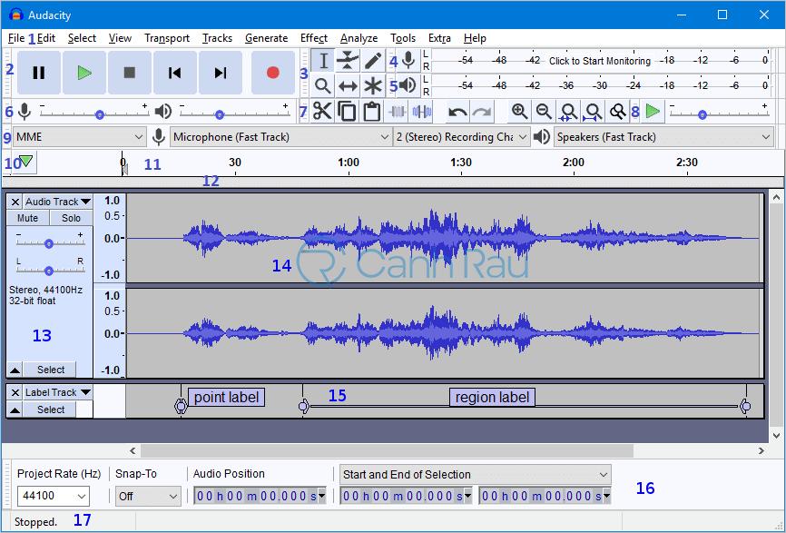 Phần mềm ghi âm trên máy tính tốt nhất hình 1
