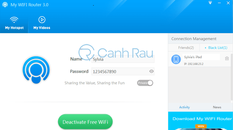 Phần mềm phát Wifi tốt nhất hình 4