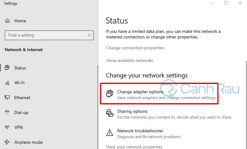 Sửa lỗi kết nối của bạn không phải riêng tư hình 11