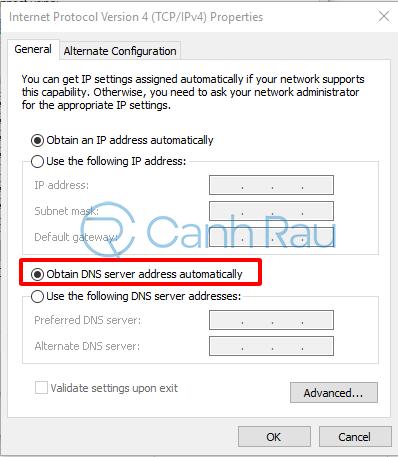 Sửa lỗi kết nối của bạn không phải riêng tư hình 14