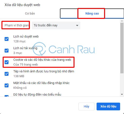 Sửa lỗi kết nối của bạn không phải riêng tư hình 7