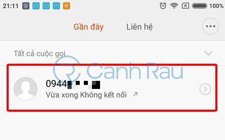 Cách chặn số điện thoại gọi đến hình 1