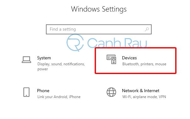 Cách chỉnh tốc độ chuột cho Windows 10 hình 1