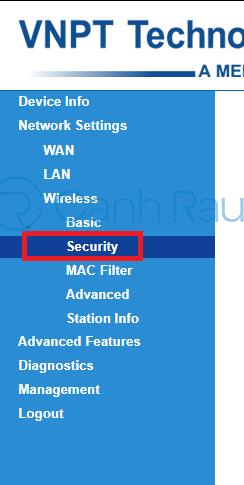 Cách đổi mật khẩu Wifi VNPT hình 8