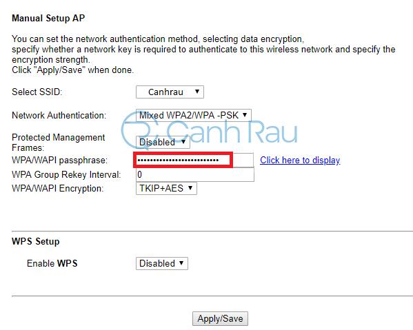 Cách đổi mật khẩu Wifi VNPT hình 9