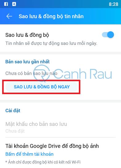 Cách khôi phục tin nhắn trên Zalo hình 5