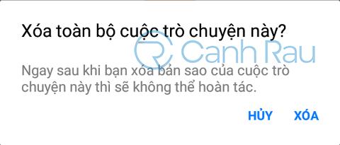 Cách xóa tin nhắn trên Messenger hình 6