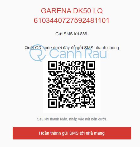 Hướng dẫn cách nạp thẻ Garena hình 15