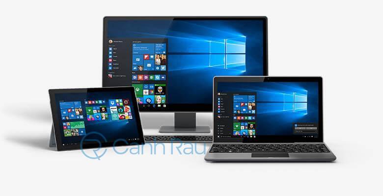 Nên cài bản Windows 10 nào cho máy tính hình 8