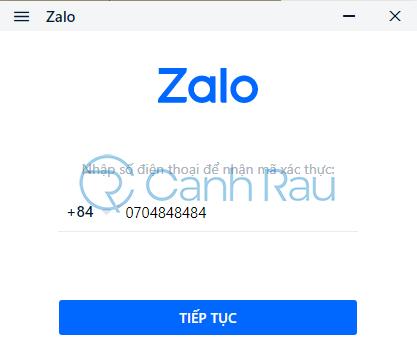 Quên mật khẩu Zalo phải làm sao hình 11