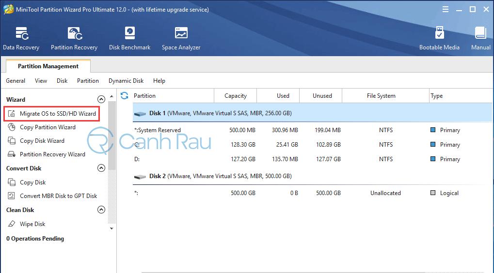 Cách chuyển hệ điều hành Windows từ HDD sang SSD hình 1