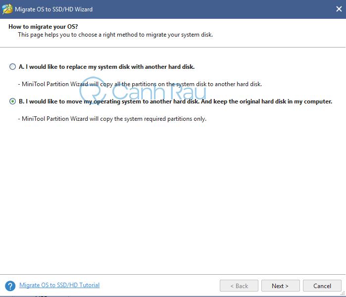 Cách chuyển hệ điều hành Windows từ HDD sang SSD hình 2