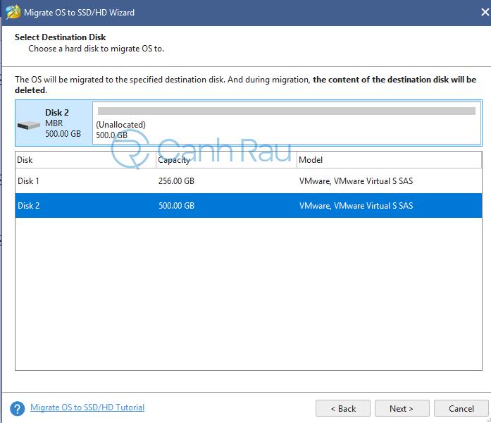 Cách chuyển hệ điều hành Windows từ HDD sang SSD hình 3
