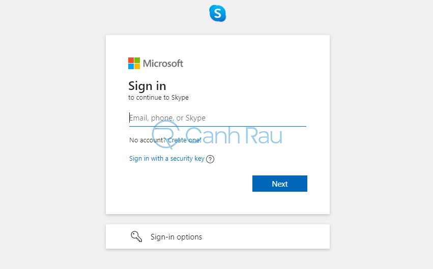 Cách đăng nhập Skype hình 7
