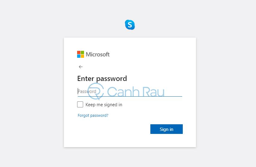 Cách đăng nhập Skype hình 8