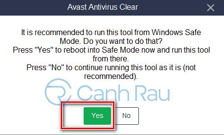Cách gỡ cài đặt Avast Free Antivirus khỏi máy tính hình 12