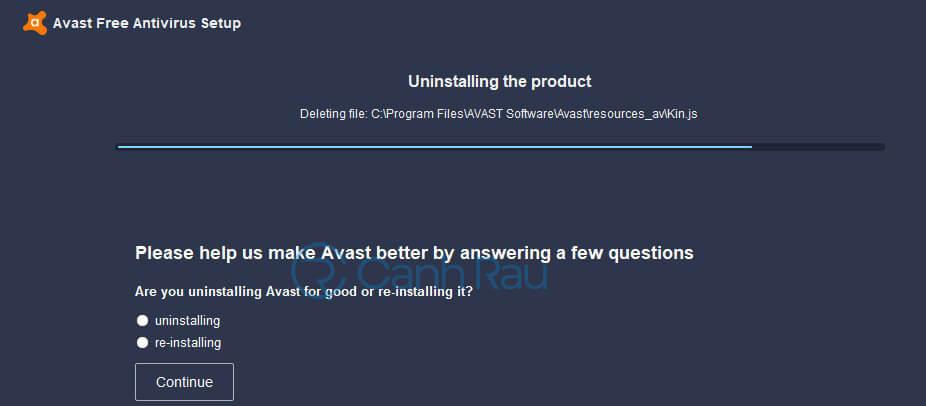 Cách gỡ cài đặt Avast Free Antivirus khỏi máy tính hình 28