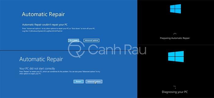 Cách sửa lỗi Windows 10 automatic repair hình 2