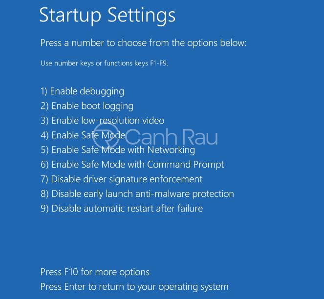 Cách sửa lỗi Windows 10 automatic repair hình 9