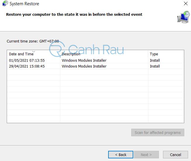 Cách sửa lỗi Your PC ran into a problem hình 13