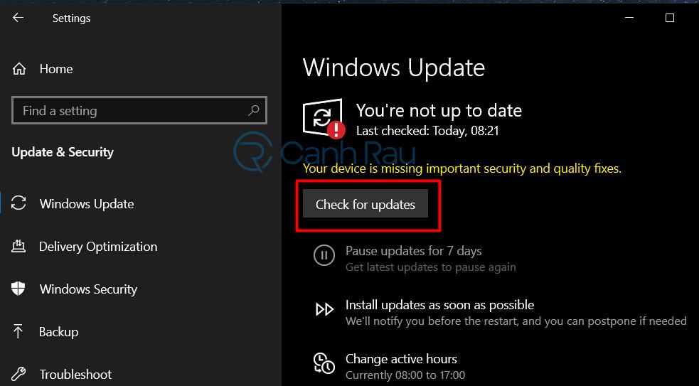 Cách sửa lỗi Your PC ran into a problem hình 15