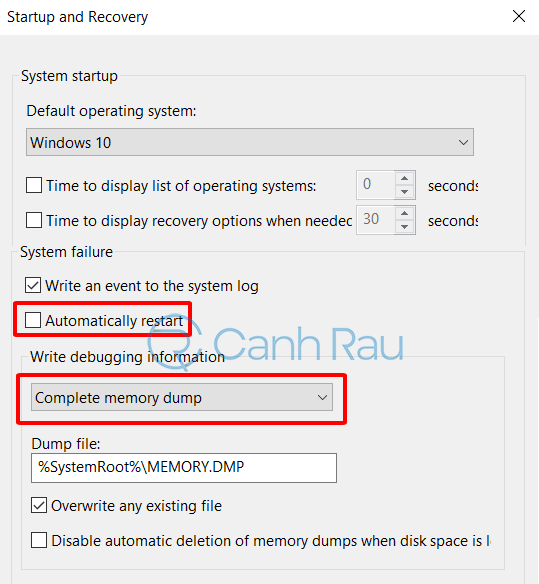 Cách sửa lỗi Your PC ran into a problem hình 9