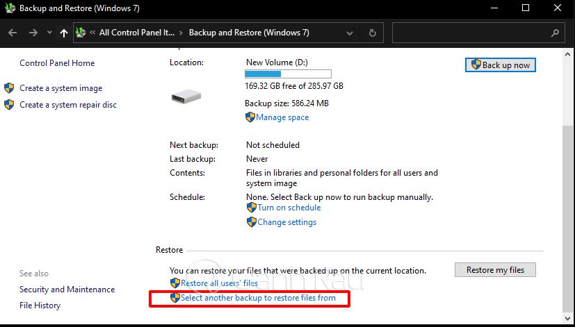 Hướng dẫn cách backup dữ liệu Windows 10 hình 14