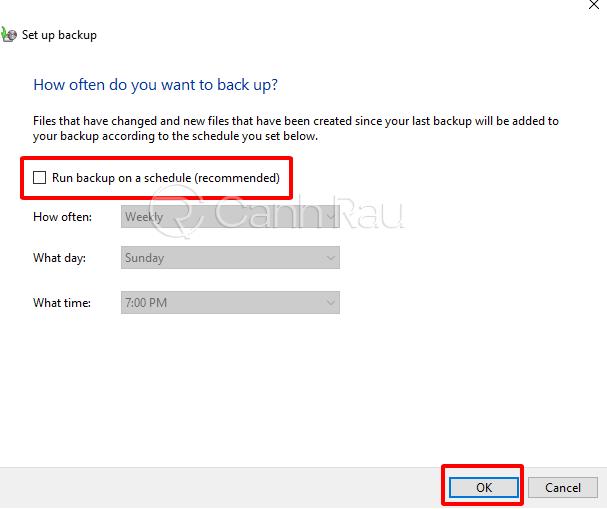 Hướng dẫn cách backup dữ liệu Windows 10 hình 8