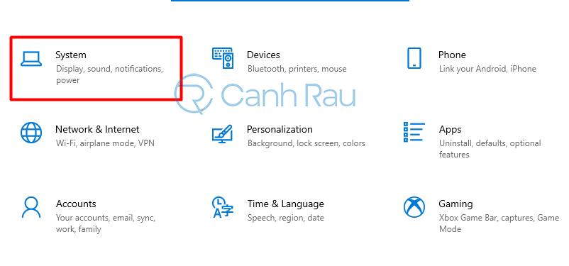 Hướng dẫn cách chỉnh độ sáng màn hình máy tính Windows 10 hình 1