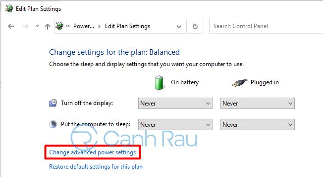 Hướng dẫn cách chỉnh độ sáng màn hình máy tính Windows 10 hình 12