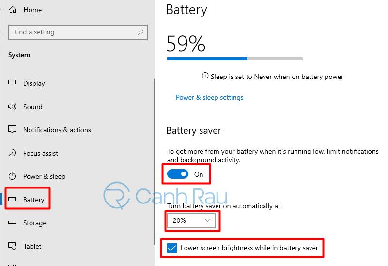 Hướng dẫn cách chỉnh độ sáng màn hình máy tính Windows 10 hình 5