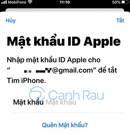 Hướng dẫn cách đăng xuất tài khoản iCloud iPad hình 3