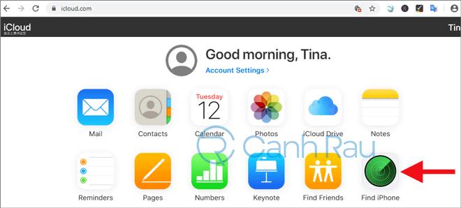 Hướng dẫn cách đăng xuất tài khoản iCloud iPad hình 6