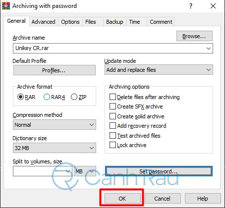 Hướng dẫn cách giải nén file RAR trên máy tính hình 6