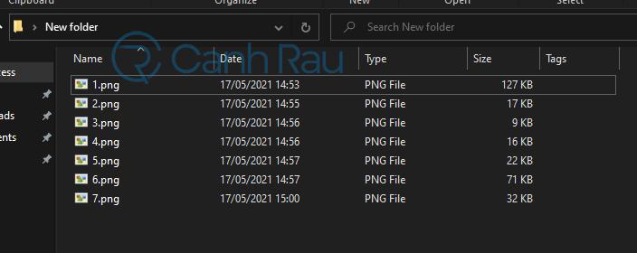 Hướng dẫn cách giải nén file ZIP trên máy tính hình 8
