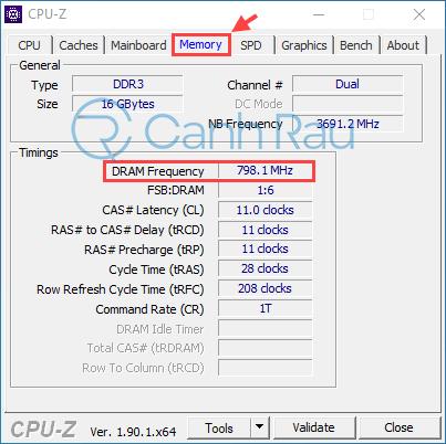 Hướng dẫn cách kiểm tra bus RAM hình 5