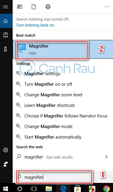 Hướng dẫn cách phóng to màn hình máy tính Desktop hình 5