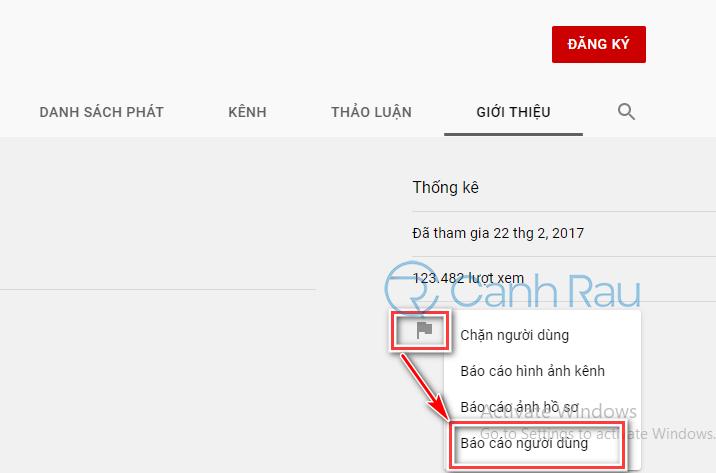 Hướng dẫn cách report kênh trên Youtube hình 2