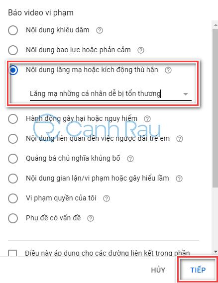 Hướng dẫn cách report kênh trên Youtube hình 7