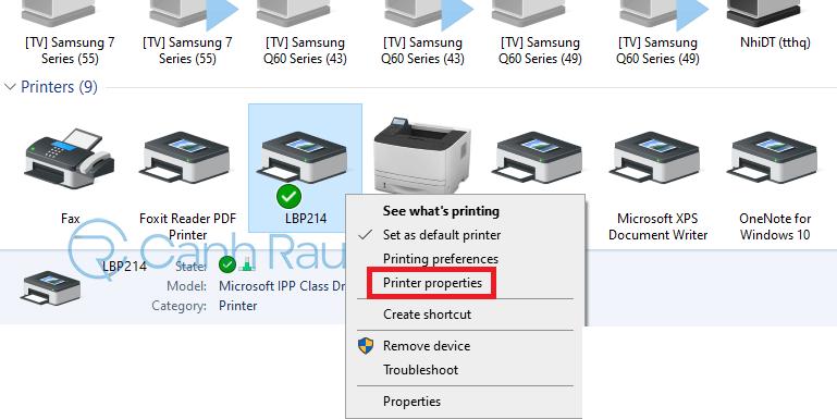 Hướng dẫn cách share máy in Windows 10 hình 3
