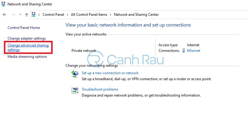 Hướng dẫn cách share máy in Windows 10 hình 6