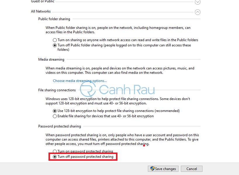 Hướng dẫn cách share máy in Windows 10 hình 8