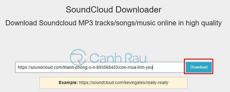 Hướng dẫn cách tải nhạc trên SoundCloud hình 13