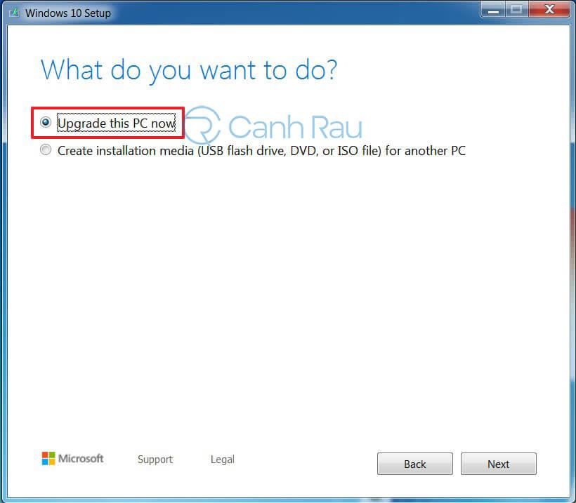 Hướng dẫn nâng cấp Windows 7 lên Windows 10 hình 2