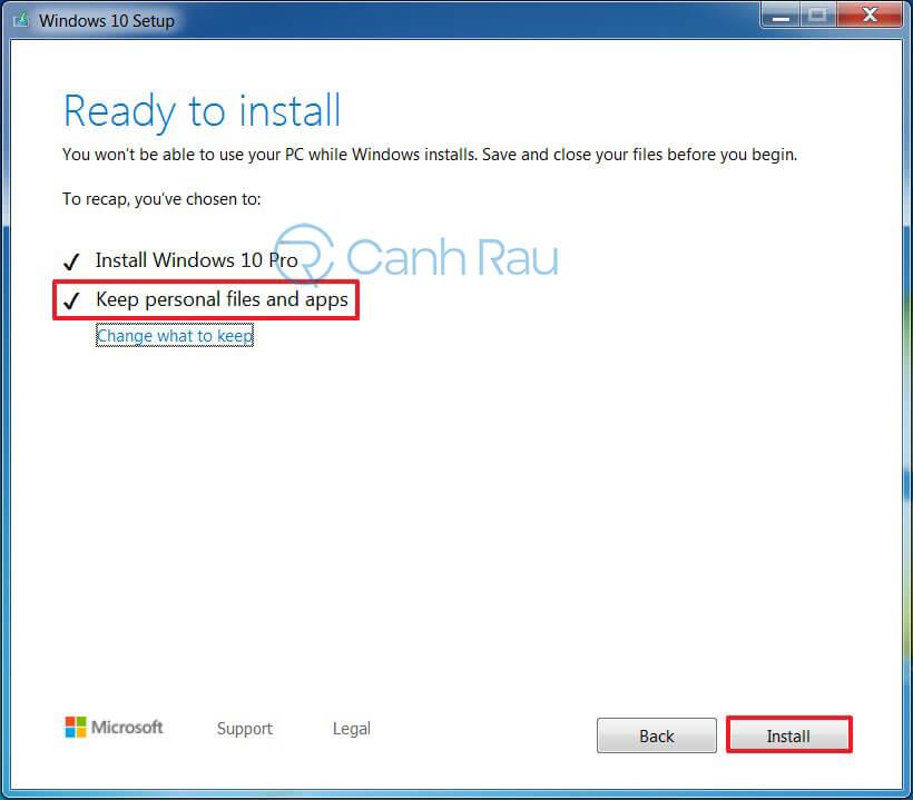 Hướng dẫn nâng cấp Windows 7 lên Windows 10 hình 3