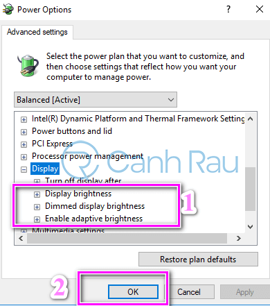 Hướng dẫn sửa lỗi không chỉnh được độ sáng màn hình Windows 10 hình 21