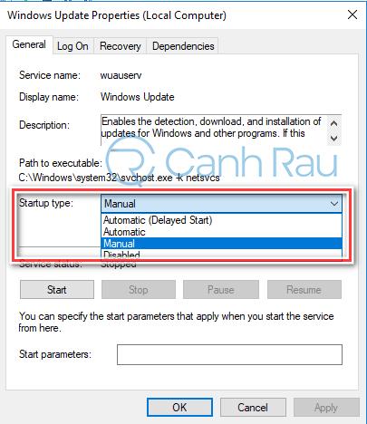 Hướng dẫn sửa lỗi Windows 10 không update được hình 4