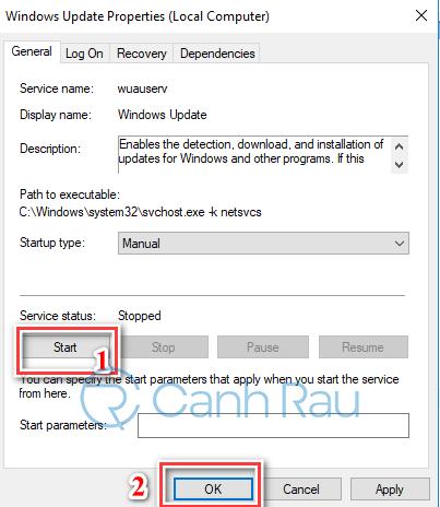 Hướng dẫn sửa lỗi Windows 10 không update được hình 5